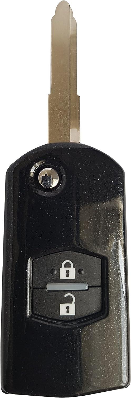 Ck Mazda Auto Schlüssel Hülle Abs Kunststoff Key Cover Elektronik