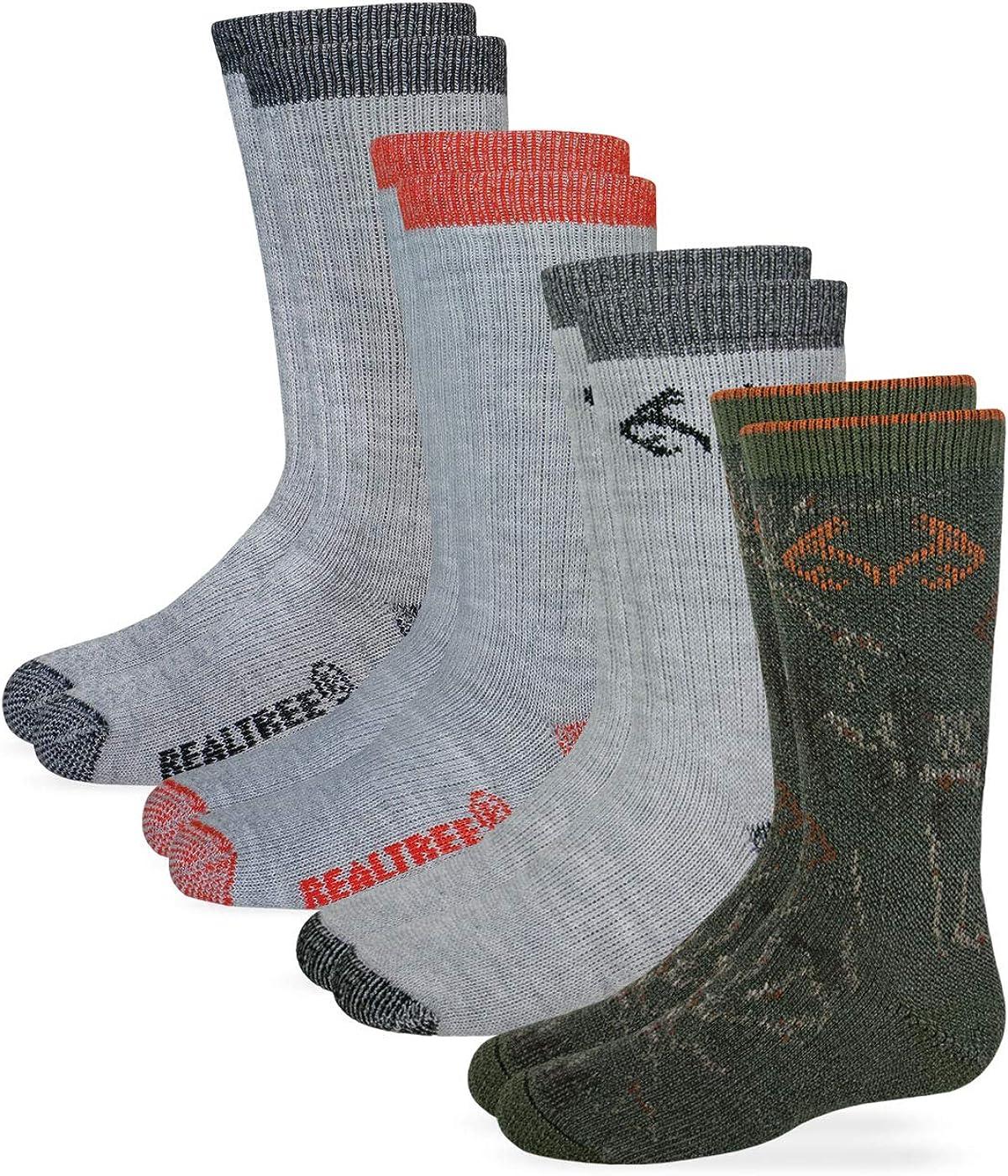 Realtree Boys Boot Sock (4- Pack)