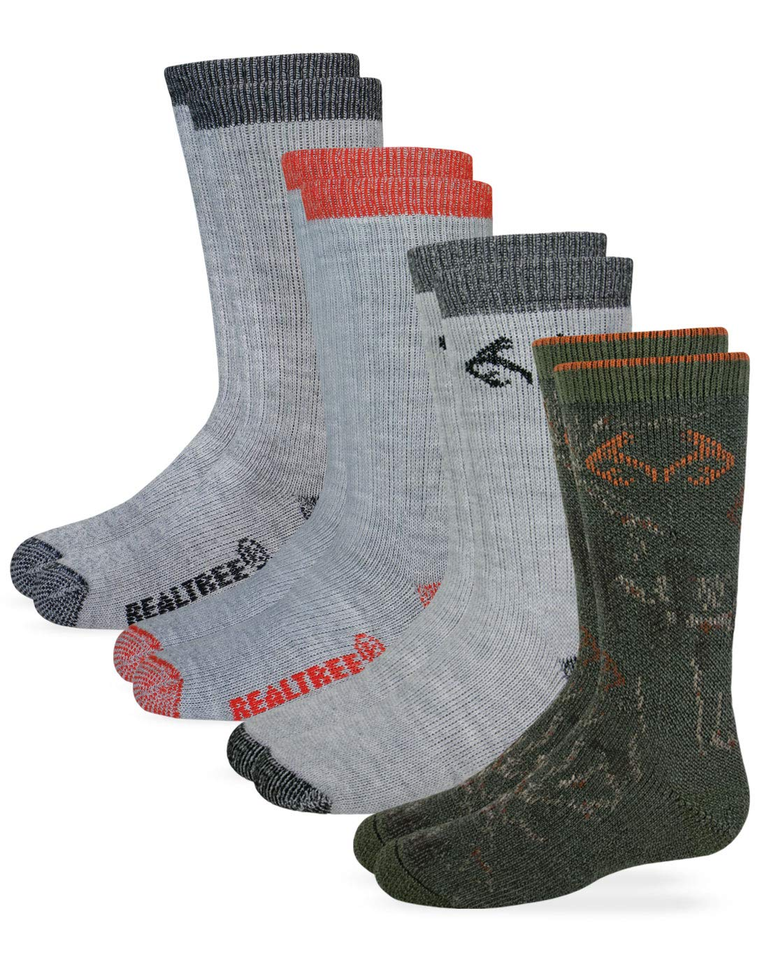 Realtree Boys Boot Sock (4- Pack) by Realtree