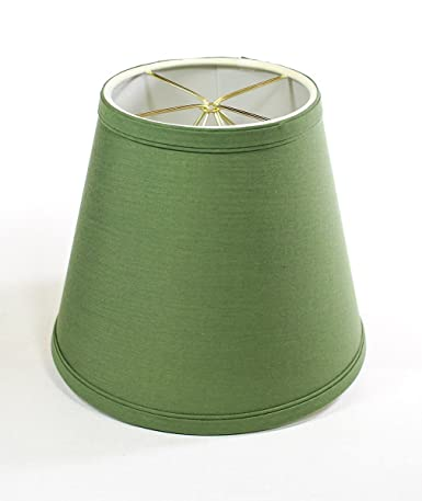 5x8x7 Empire Linen Edison Clip On Lampshade Kale Green By Home Concept Perfect For Small Table Lamps Desk Lamps And Accent Lights Small Kale