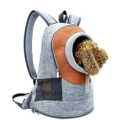 LIYAN Mochila para Mascotas Plegable Bolsa de Viaje fácil de Limpiar para Perros y Gatos Verano