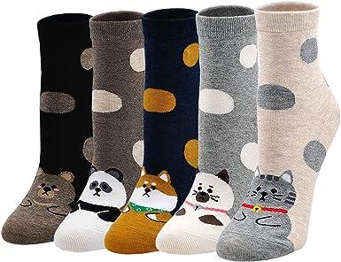 Cats Cartoon Sock Socks Lovely Casual Women/'S Fashion Art Ankle Winter Warm 6T