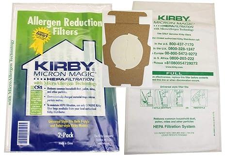 Kirby - Bolsas universales para aspiradora HEPAP (Paquete de ...