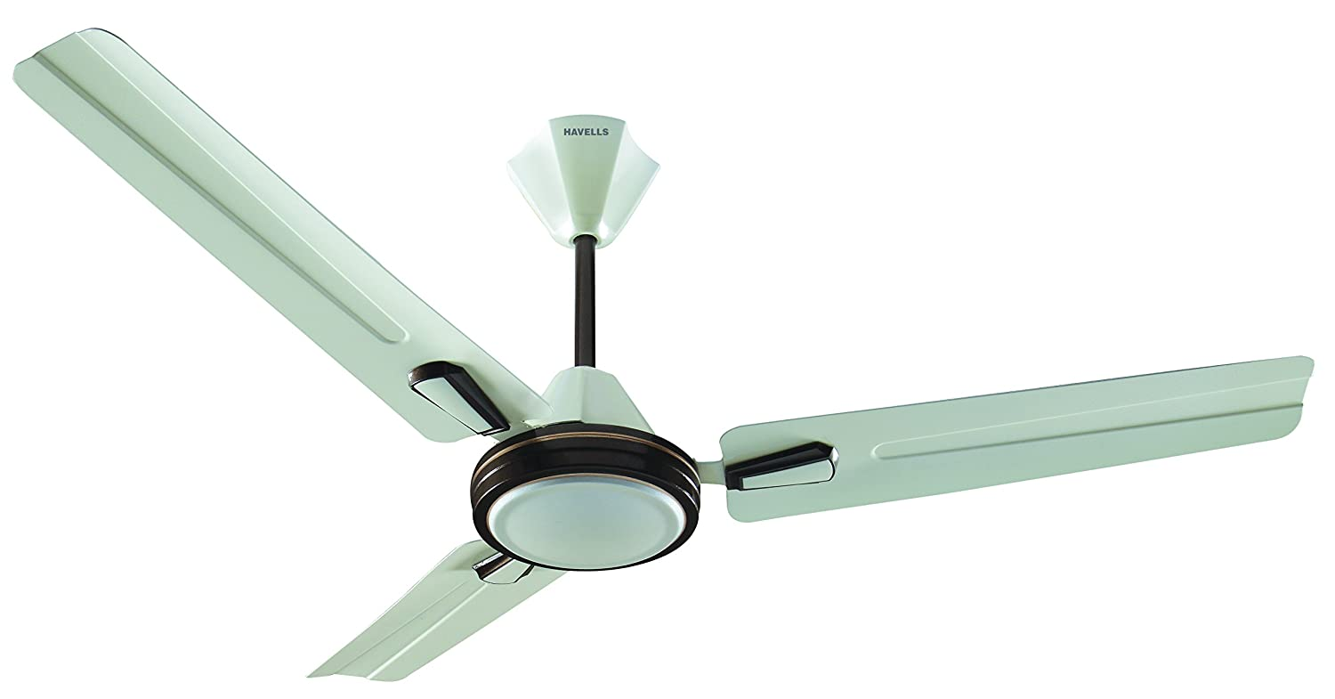 Buy havells atria 1200mm decorative ceiling fan pearl ivory brown buy havells atria 1200mm decorative ceiling fan pearl ivory brown online at low prices in india amazon mozeypictures