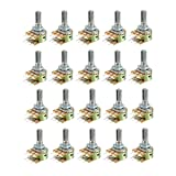 uxcell WH148 10K Ohm Variable Resistors Dual Turn