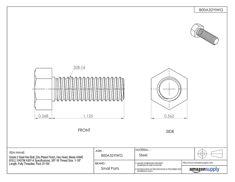 Hard-to-Find Fastener 014973292294 Phillips Flat Wood Screws 7 x 1-1//4 Piece-100