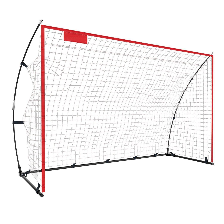 ポータブルサッカーゴール12 x 6 ft、8 x 5 ft、6 x 4 ft Folding Soccer Goal Net for Kids Adult Junior裏庭トレーニング練習with Carryバッグ B078HLDPTP6 x 4 FT