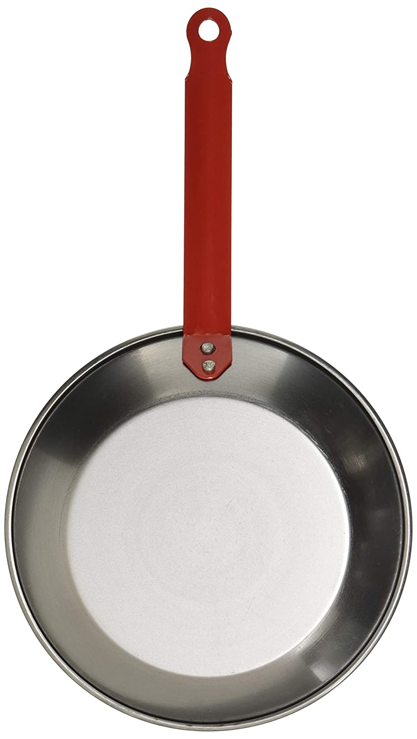 Amazon.com: La Ideal_Polished Steel Shallow Fry Pan with One Handle, 18 cm: Home & Kitchen