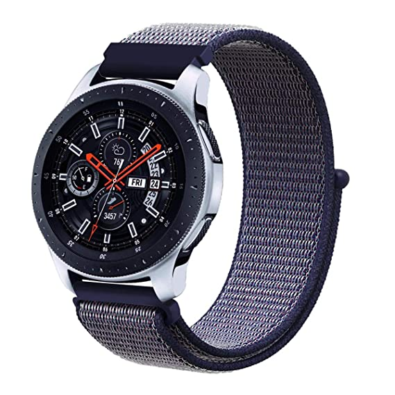 Galaxy Watch 46mm Band, Gear S3 Bands, Wingle 22mm Universal Replacement Strap w/Quick Release Pin Compatible for TicWatch Pro/Huawei Watch GT Classic ...