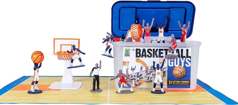 Amazon.com: Kaskey Kids set de muñecos de baloncesto ...