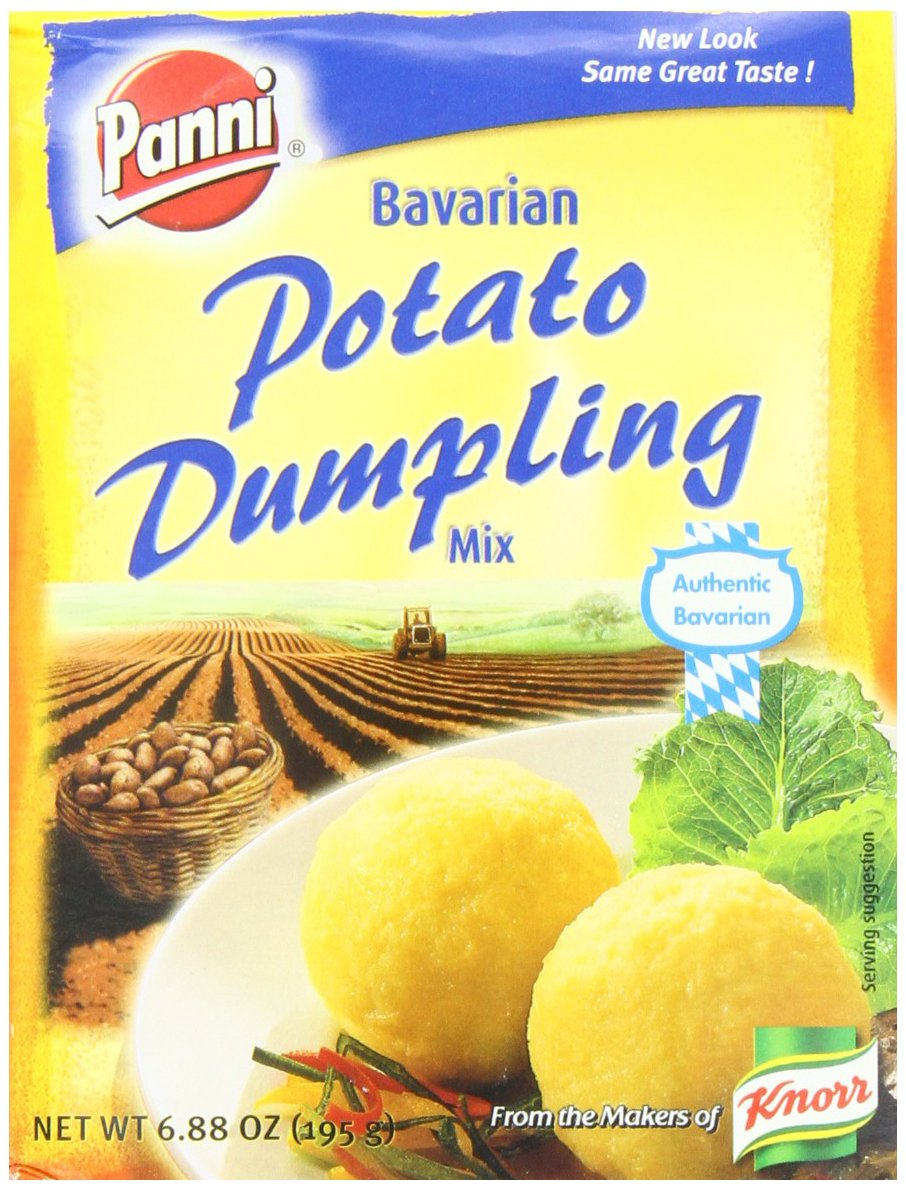 Panni Bavarian Potato Dumpling Mix, 6.88-Ounce Boxes (Pack of 12) by Panni