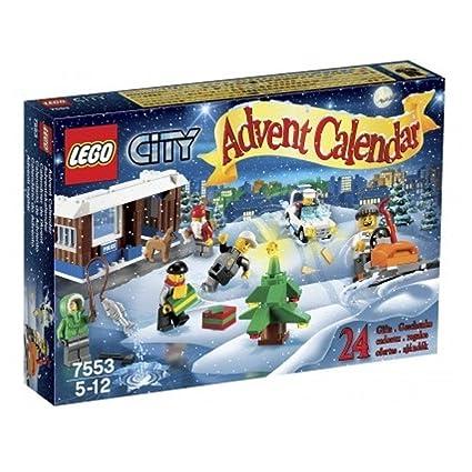 Amazon Com Lego 2011 City Advent Calendar 7553 Toys Games