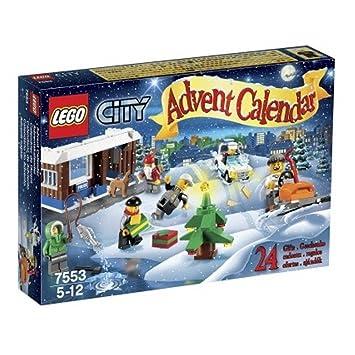 Amazon.com: LEGO 2011 City Advent Calendar 7553: Toys & Games