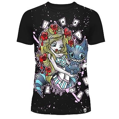 bde749b902b42 Cupcake Cult - T-Shirt - Fille Noir    Amazon.fr  Vêtements et accessoires