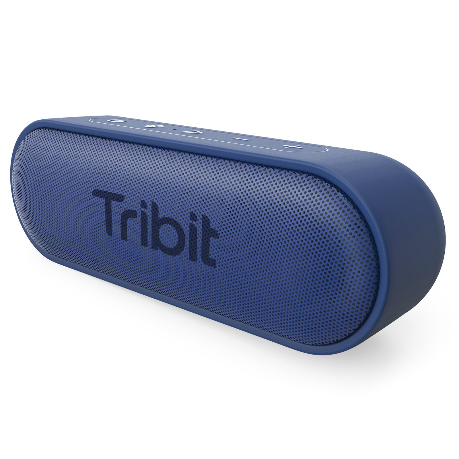Tribit XSound Go Bluetooth Speakers - 12W Portable Speaker Loud Stereo Sound, Rich Bass, IPX7 Waterproof,24 Hour Playtime, 66 ft Bluetooth Range & Built-in Mic Outdoor Wireless Speaker (Blue)