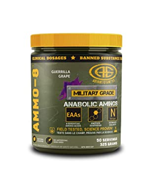 Amazon.com: ammo-8 – Aminoácidos Esenciales (EAAS) en polvo ...