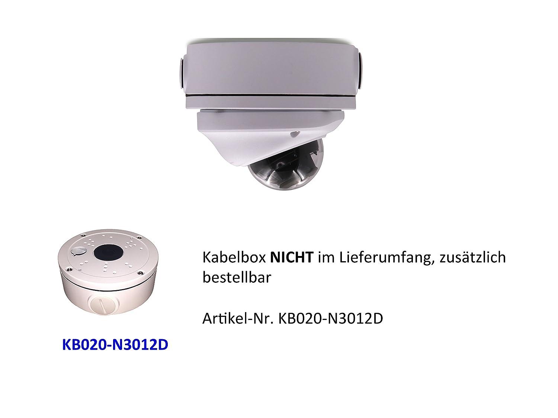 JOVISION JVS-N3012A, Cámara domo IP, con conexión de red, para interior y exterior, 1,3 megapíxeles, HD (960P), cámara de vigilancia, alarma por correo ...
