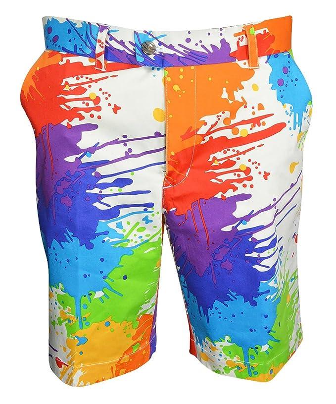 Amazon.com: Loudmouth Golf – Pantalones cortos para hombre ...