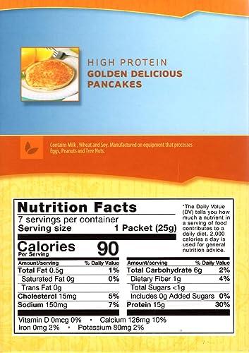 HealthSmart – Caja de gran dieta Proteína Panqueques ...