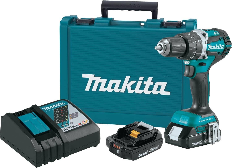 Makita XPH12R Cordless Hammer Driver-Drill Kit