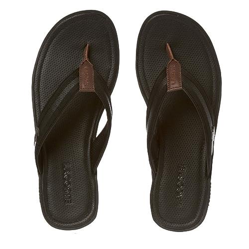 31ede022a4e5f Lacoste Carros 6 Homme Sandales Noir  Amazon.fr  Chaussures et Sacs