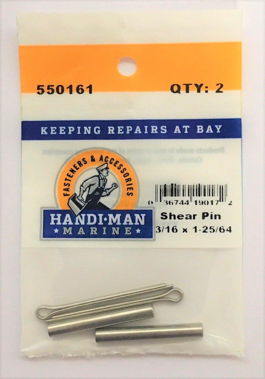 Handi-Man Marine 550162 3/16X1-25/64 Shear Pin