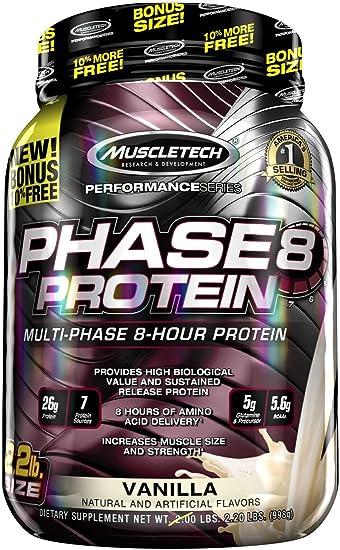 Muscletech Performance Series Phase 8 Vanilla - 997 gr