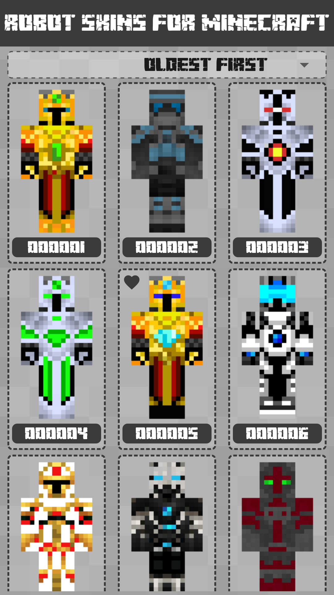 Robot Skins for Minecraft PE: Amazon.es: Appstore para Android