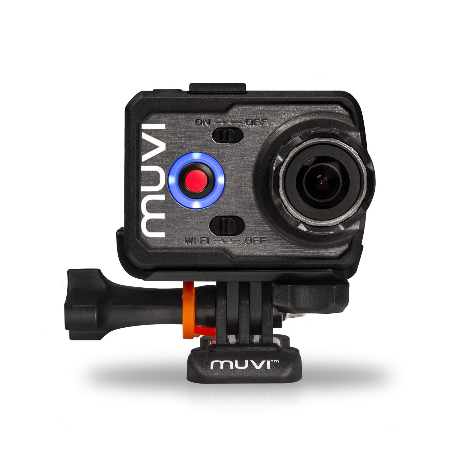 CDM product Veho VCC-006-K2S Muvi K-Series K2 SPORT Wi-Fi Handsfree Camera Sports Bundle, Black big image