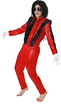 I Love Fancy Dress ilfd7020l King of Pop - Disfraz Infantil (Grande ...