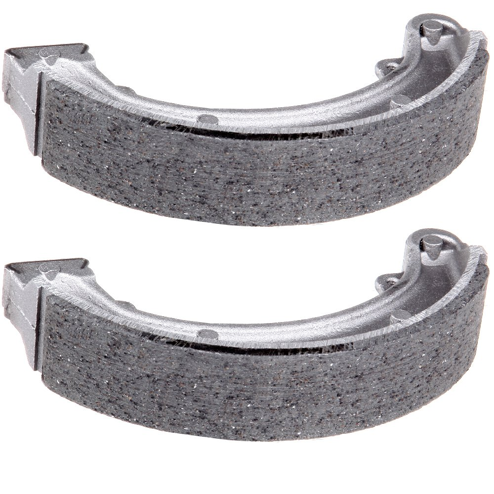 SCITOO Rear brake shoes 1988-2000 fit Honda TRX 300 2WD Fourtrax Braking shoes