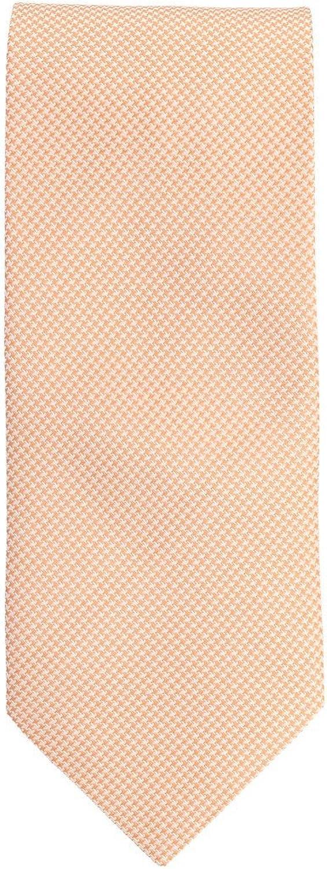 Silk Ties clásico corbata de seda naranja del color del salmón 8 ...
