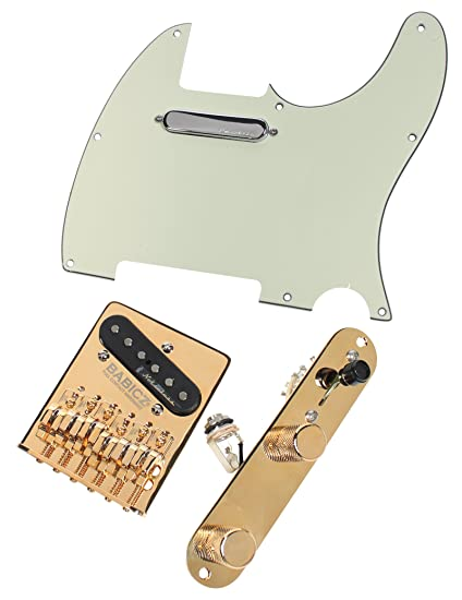 Fender Vintage Noiseless Stratocaster Pickups Set Amazon Com >> Amazon Com Fender Telecaster Loaded Pickguard Vintage Noiseless
