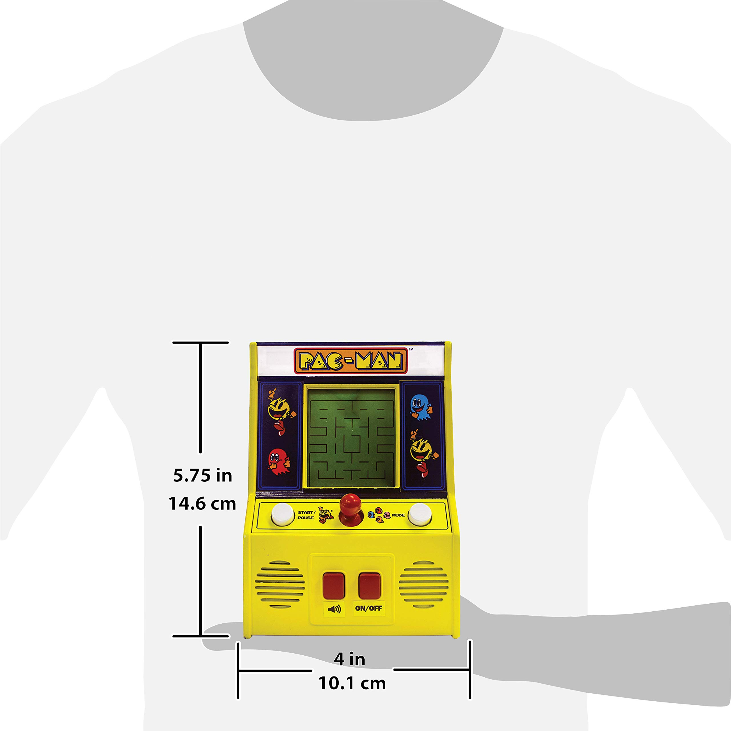 Arcade Classics - Pac-Man Retro Mini Arcade Game by Basic Fun (Image #2)