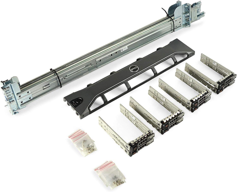 Dell PowerEdge R730 / R720 / R820 Upgrade Kit Rails + Bezel + 8X New 1TB SSDs (Renewed)