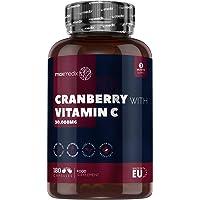 Arándano Rojo Cápsulas 30.000 mg 180 Cápsulas- Suplemento Natural con Vitamina…