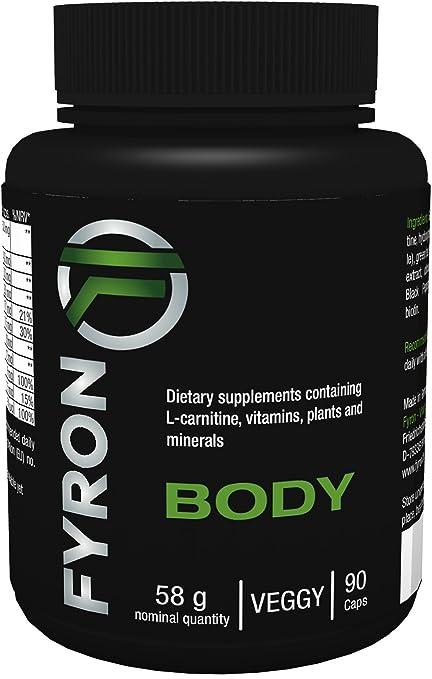 136 opinioni per Fyron Body- 90 Capsule- Perdere peso in modo 100% Naturale- Senza additivi-