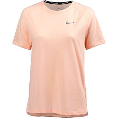 5152619449d9d0 Nike Women's Damen Breathe Tailwind Top Short Sleeve T-Shirt: Amazon.co.uk:  Clothing