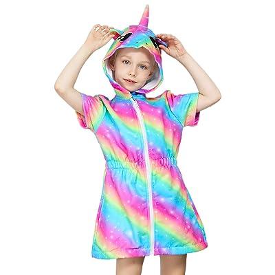 Sylfairy Girl Unicorn Bikini Set Mermaid Swimsuit Kids Swimwear Tankini Beachwear Bathing Suit