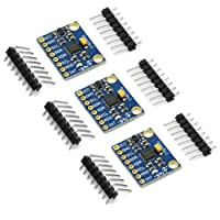 Gikfun GY-521 MPU-6050 3 Axis Accelerometer Gyroscope Module 6 DOF 6-axis Accelerometer Gyroscope Sensor Module Arduino DIY(Pack of 3) EK1091x3C