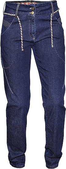 Abk Climbing Targa Pantalones Mujer Azul Denim Xs Amazon Es Ropa Y Accesorios