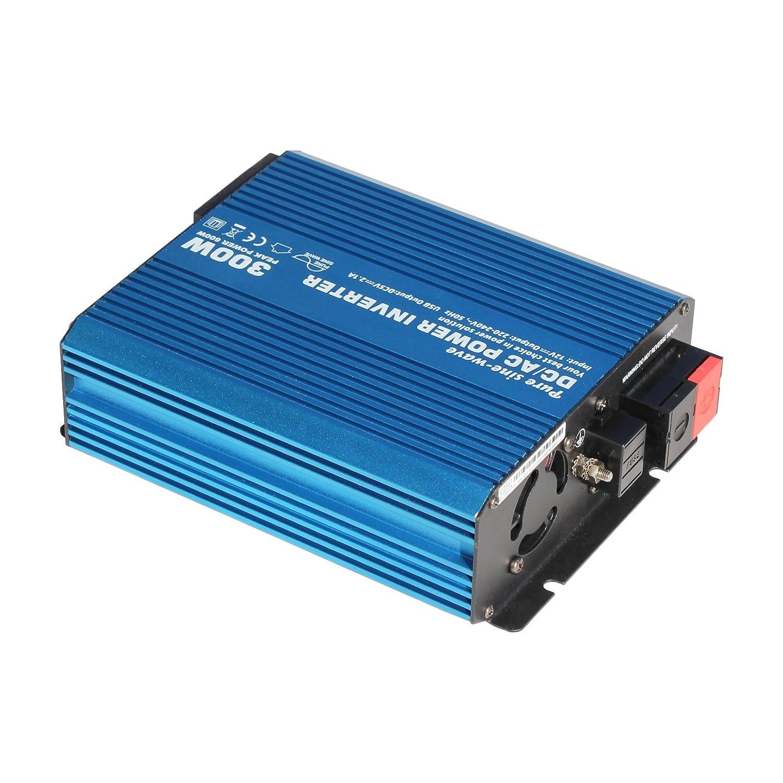 Usædvanlig 300W 12V pure sine wave power inverter 230V AC output: Amazon.co DK63