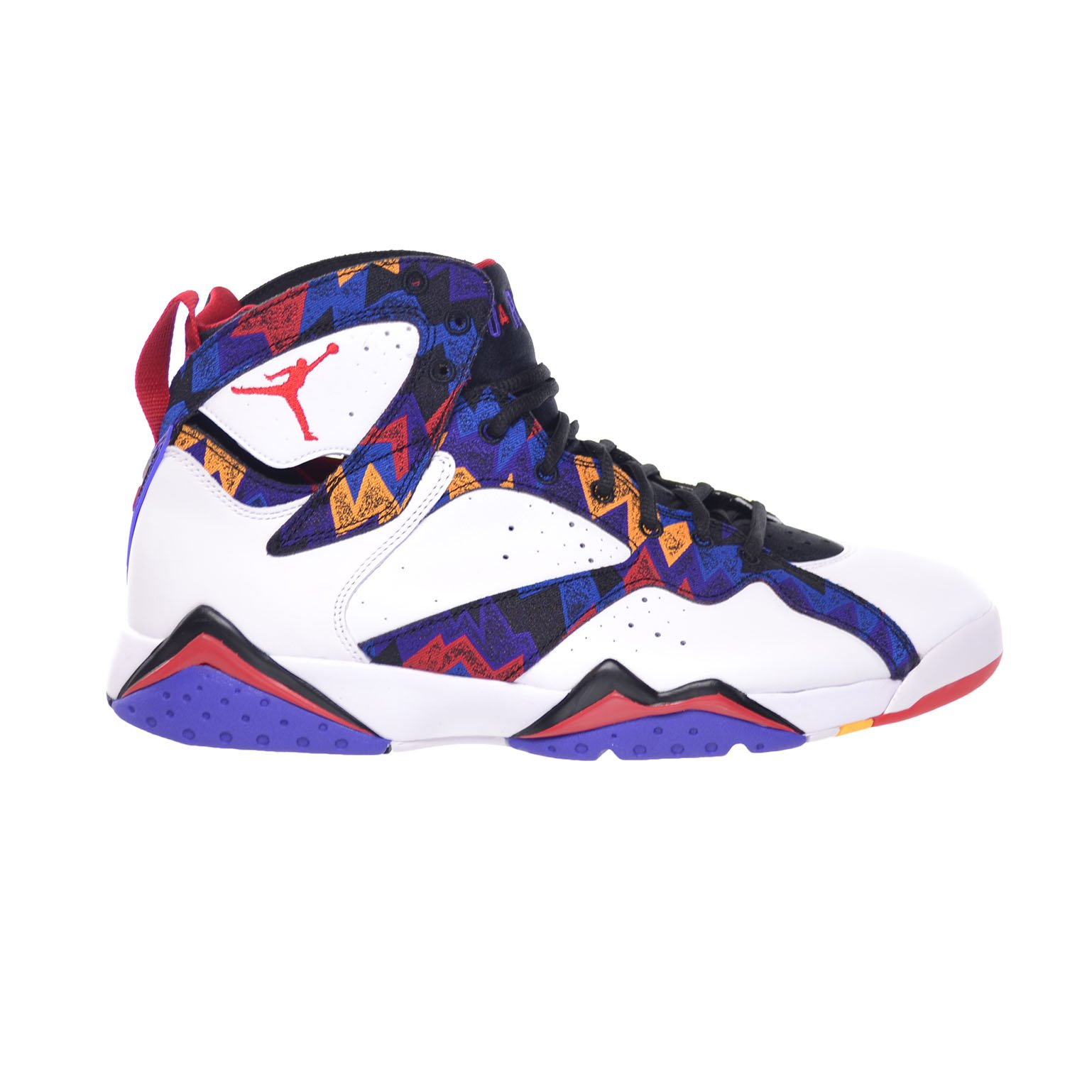 check out 1c636 eb682 Amazon.com   Jordan Air 7 Retro Sweater Mens  Shoes White University  Red-Black-Bright Concord 304775-142   Basketball