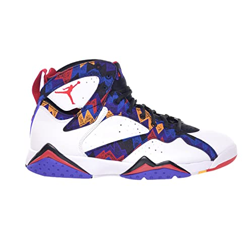timeless design 3ab29 fbccf Image Unavailable. Image not available for. Color  Jordan Air 7 Retro  Sweater Mens  Shoes White University Red-Black-Bright