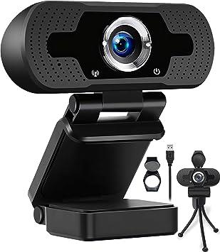 Todo para el streamer: AODE Cámara Web 1080P Webcam con Micrófono Incorporado y Cubierta de Privacidad Cámara USB para Video Chat y Grabación para Zoom Youtube Skype FaceTime Estudio de Reunión en Línea PC Mac Windows