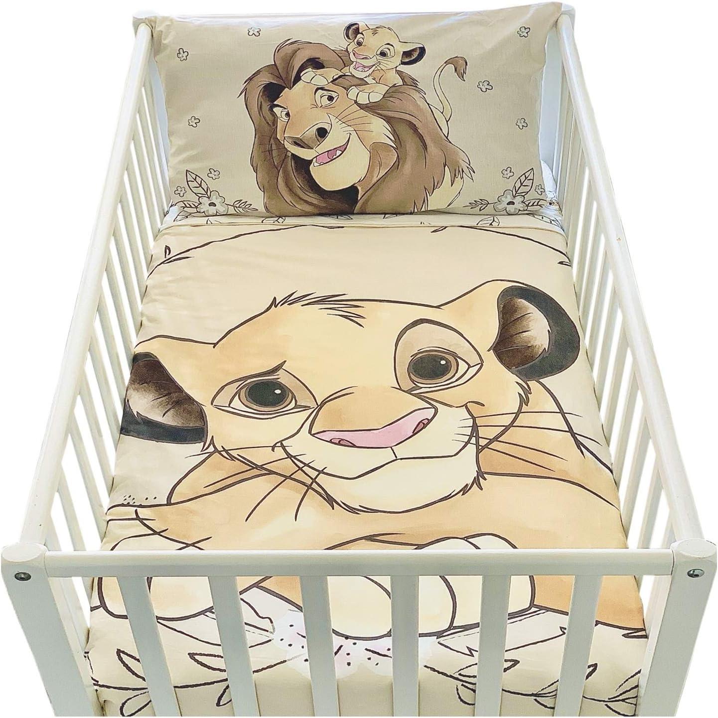 Juego de funda de edredón y funda de almohada para cuna | Juego de funda de edredón y funda de almohada | Juego de cama Disney