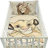 K&B - Juego de funda de edredón y funda de almohada para cuna - Juego de cama Disney
