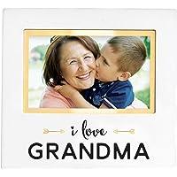 Pearhead I Love Grandma' Keepsake Frame, Grandparents Gift