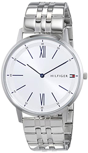 01756848 Image Unavailable. Image not available for. Colour: Tommy Hilfiger Mens  Analogue Classic Quartz Watch with Stainless Steel ...