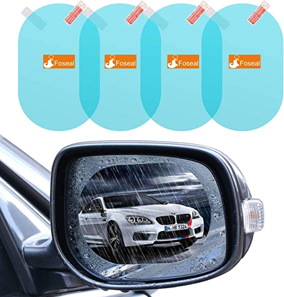 2 PCs Oda Car Rearview Mirror 18x3.5cm Waterproof Rain Shade Universal Rear View Side Mirror Rainproof Blade Shade Shield Eyebrows